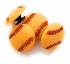 4pcs Softball Sports Shoe Charms for Crocs Clog Shoes Bracelets Gift