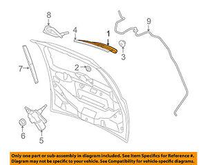 VW VOLKSWAGEN OEM 2010 Routan Wiper-Rear Window Arm 7B0955707A