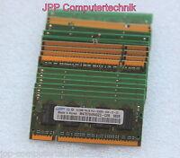 1GB 2x 512MB PC2-5300S DDR2 CL5 667MHZ 200-PIN Laptop RAM Arbeitsspeicher SODIMM