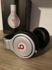 Beats By Dr Dre Pro Silver Black Studio Headphones