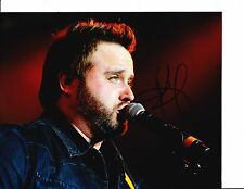 RANDY HOUSER SIGNED ON STAGE CLOSE UP 8X10