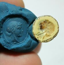 ZURQIEH -as17906- ANCIENT ROMAN CARNELIAN INTAGLIO. 100 - 200 A.D