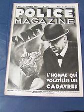 Police Magazine 1933 153 ALBIAC MASCARVILLE SAINT LEU LA FORET BRAY DUNE CAHORS