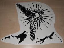 HANG GLIDING PILOT EAGLE MOUNTAINS SPORT Decals Stickers Emblem Vinyl Die Cut