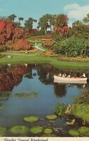 "*Florida Postcard-""Tropical Wonderland"" .../Waterways of Cypress Gardens/"