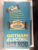 Vintage Gotham Electric Hot Rod Auto Race Toy Game gm645