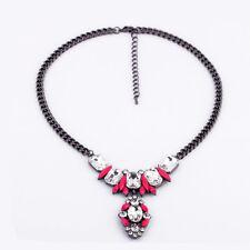 BID * Urban Anthropologie Viera Shourok Fringe Pink Beaded Necklace