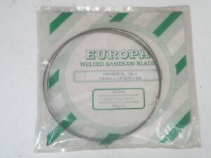 EUROPA WELDED BANDSAW BLADE  M42 BIMETAL  2362MM X 1/4' (025) x 6hk
