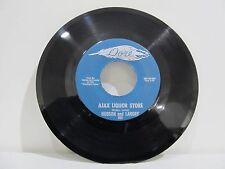 "45 RECORD 7"" SINGLE - HUDSON AND LANDRY- AJAX LIQUOR STORE"