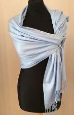 Powder Blue Super Soft Cashmere Wrap/Scarf