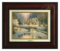 Thomas Kinkade Deer Creek Cottage Classic Collection 9 x 12 Framed Classic