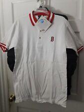Boston Red Sox baseball short sleeve polo Golf Shirt MLB NEW Medium  ( M )
