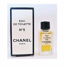 CHANEL No 5  Eau De Toilette 4ml Mini Perfume ~ New in Box ~Rare! Perfect Travel