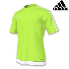Boys Adidas Estro 15 Top Short Sleeve T Shirt Kids Football Training Size M L XL