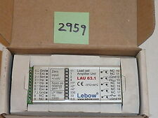 Hauch & Bac 63.101.5.v.1.30  LAU 63.1 Load cell Amplifier Unit Lebow