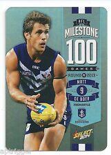 2014 Champions AFL Milestone Game (MG32) Matt DE BOER Fremantle