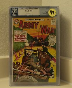 Our Army at War  Sgt. Rock  #131   7.0  graded
