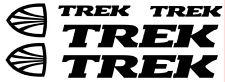 6 pegatinas de vinilo TREK para bicicleta,no 248