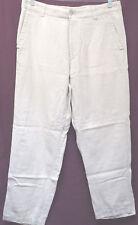 MEN'S SZ 34 QUIKSILVER EDITION OFF-WHITE REAR FLAP POCKET JEANS (#1135-8)