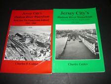 JERSEY CITY'S HUDSON RIVER WATERFRONT,PENNSYLVANIA RAILROAD,LV,CNJ,ERIE,DL&W,EL