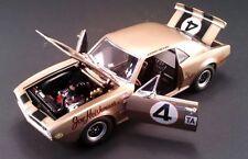 ACME 1967 CHEVROLET GOLD CAMARO #4 FIRST Z/28 EVER MADE DIECAST RACE CAR GMP