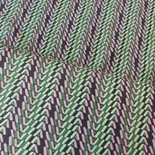 Crafts By the Metre Fat Quarter Striped Fabric