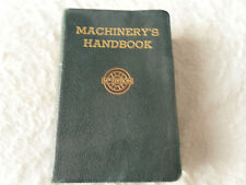 MACHINERY'S HANDBOOK 14TH EDITION * BOOK IN VERY CONDITION *