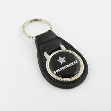 GM Hummer Logo Geländewagen US Muscle Car Echt Leder Schlüsselanhänger Anhänger