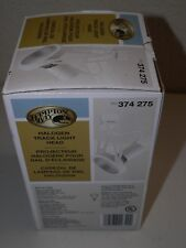 Hampton Bay SKU 374 275 75W PAR30 Bulb or CFL Halogen Track Light Head - White