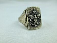 Vintage Sterling Silver Boy Scout Ring 312B