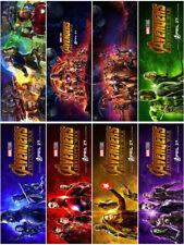 8 Avengers:Infinity War Movie 2018 PVC Transparent Bookmark Promo Card Poster B2