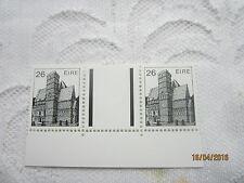 Irlanda 1982 Mint N H SG 545 26p 18/005 de arquitectura de par de canal