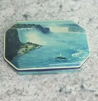 Vintage Riley's Toffee tin Niagara Falls made in Halifax England 4 oz