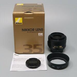 Nikon NIKKOR 35mm f/1.8 G DX AF-S Lens - Excellent Photos