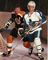Bobby Orr Lanny McDonald Unsigned 8x10 Photo Boston Bruins Toronto Maple Leafs