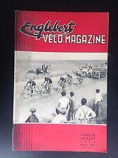 Revue Fascicule Englebert Velo magazine N° 32 1954