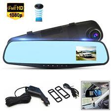 2,8 Zoll Full HD 1080P Auto Kamera Überwachung Rückspiegel Cam DVR Recorder DE