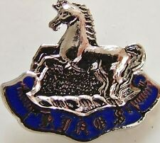 KINGS LIVERPOOL REGIMENT CLASSIC HAND MADE IN UK PLATED LAPEL PIN BADGE