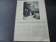 1942 Bauzeitung k49/St Leonard cimitero Norimberga/