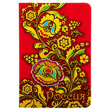 Passport Holder Russian Khokhloma ID Cover Travel Card Case Women NEW Russia