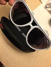 Fashion Men & Women's Retro Sunglasses Unisex Matte Frame Carrera White