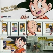 DRAGON BALL MTR souvenir commemorative tickets and a full set of model