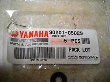 NOS OEM Yamaha Fender Plate Washer 1977-2005 YSR50 FM80 FM100 90201-05029