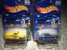 2002 Hot Wheels Limited Edition Treasure Hunts 1-12