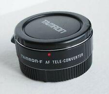 Tamron-F 1.4X AF C-AF1 MC4 Autofocus Tele-Converter - for Canon EOS DSLR