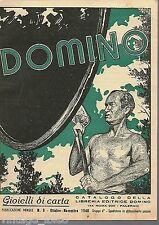 Catalogo della libreria editrice DOMINO - GIOIELLI DI CARTA N. 9 / 1948