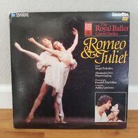 Romeo & Juliet The Royal Ballet Laserdisc LD