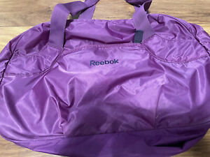 Reebok Gym Bag - Purple