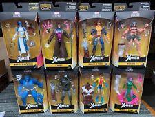Marvel Legends lot MYSTIQUE and X-MEN CALIBAN WAVE beast DENTS/DINGS PACKAGES