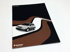2007 Suzuki SX4 Brochure